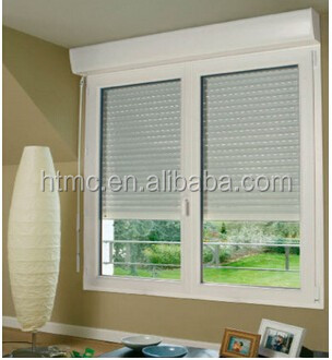 Multi-function aluminium doors and windows, window and door price with windows electric blinds