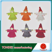 Wholesale factory OEM New Arrival Christmas Angel Crafts For Christmas Tree Ornaments