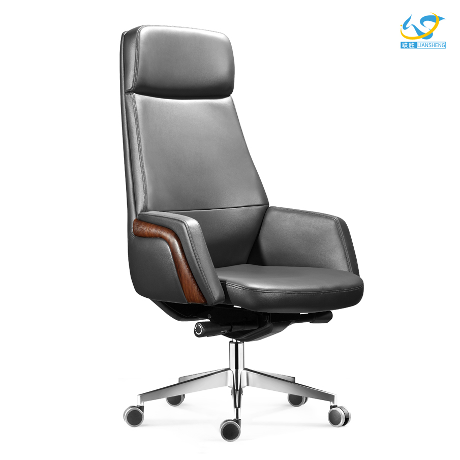 The high-end fashion chair modern foshan furniture office leather chair used top grain leather