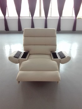 Modern Lazy Boy Leather Recliner Single Sofa Cum Bed - Buy Folding ...