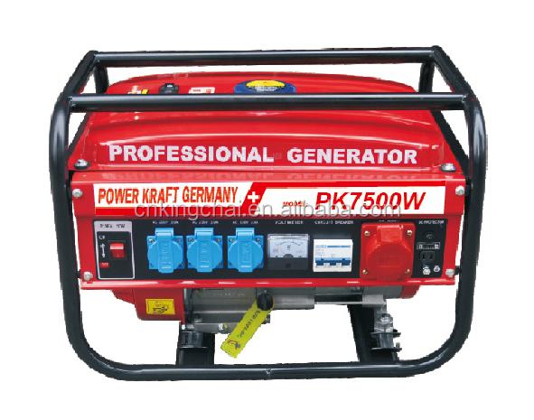 Kingchai professionele zwitserse kraft 7500 w 8500 w for Leroy merlin generatore