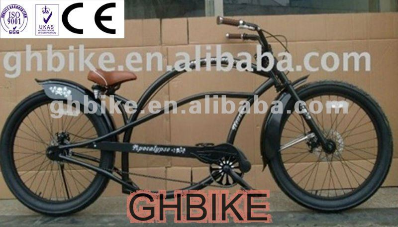 24inch Long Ce Beach Cruiser Chopper Bike