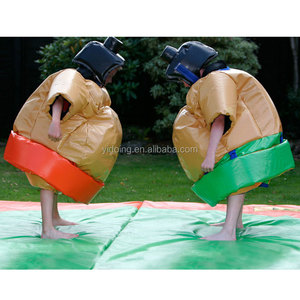 Inflatable sumo suit for kids inflatable sumo wrestling suits kids sumo wrestling suit B6076