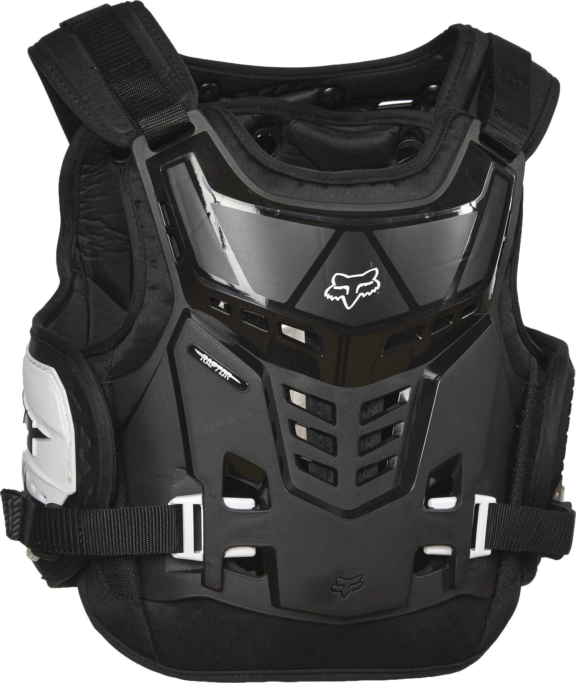Fox Racing Youth Raptor Proframe LC Protector-Black/White