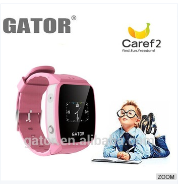 Gator GPS phone Caref 2 watch cheap mini locating gps tracker for person <strong>googl</strong> earth