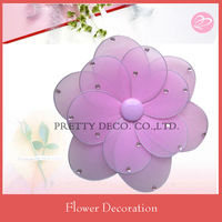 Table wedding decoration pink artificial flower