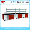 Steel and wood Chemistry/Physical/Biologic laboratory bench, lab table,epoxy resin lab bench top,laboratory bench lab bench
