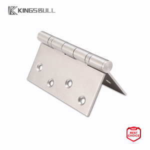 Visible folding extenior entry mortise door hinge