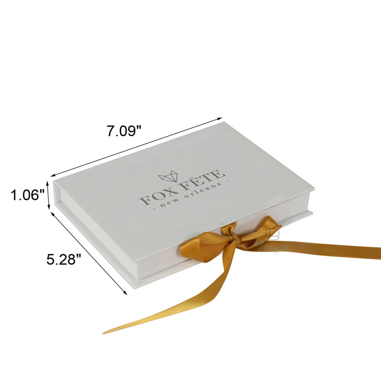 luxury matte invitation cards ribbon fancy boxes wedding