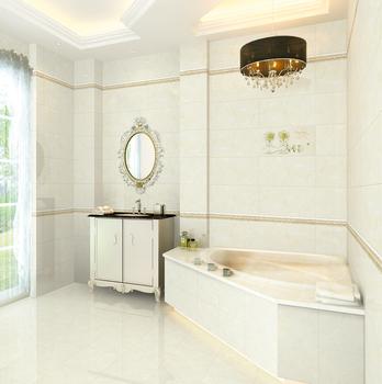 D Bathroom Floor TilesCeramic Wall Border TilesPorcelain Ceramic - Porcelain or ceramic tile for bathroom floor