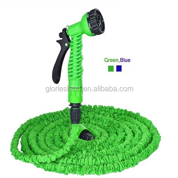Thicken Inner Pipe 75FT Garden Water Hose Expandable Flexible Hose + Shower Nozzle