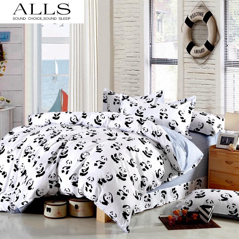 online kaufen gro handel panda bettw sche aus china panda bettw sche gro h ndler. Black Bedroom Furniture Sets. Home Design Ideas