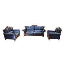 LM Sectional Luxury Leather Furniture European Exclusive Living Room Sofa