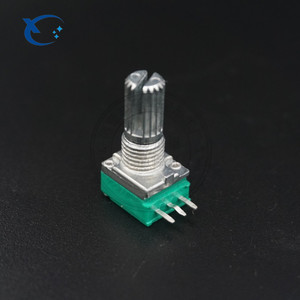 097 type 9mm volume control Carbon film rotary SINGLE MONO linear potentiometer 10k 50K