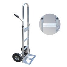 Folding dual handle luggage cart pull hand truck utility cart heavy duty