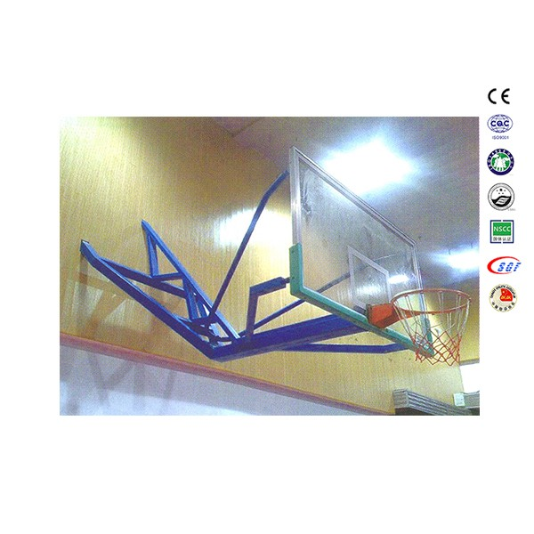 Shenzhen wall mounted basketball balls equipe basketball for training