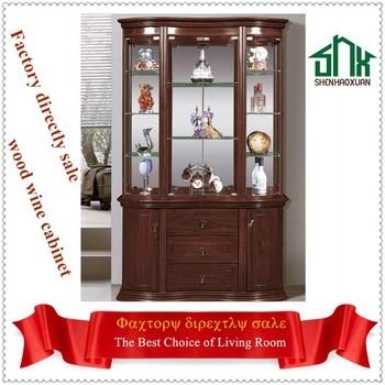 Living Room Furniture Wood Cabinet Corner Wooden Bar Cabinet 859 ...
