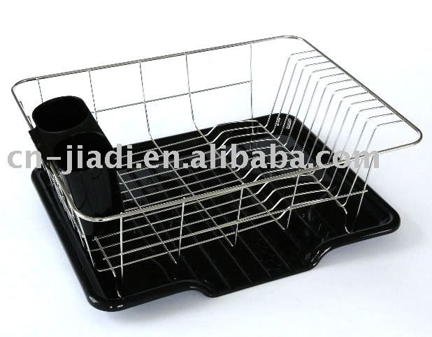 Dish Drying Rack Made Of  All Natural Premium Bamboo