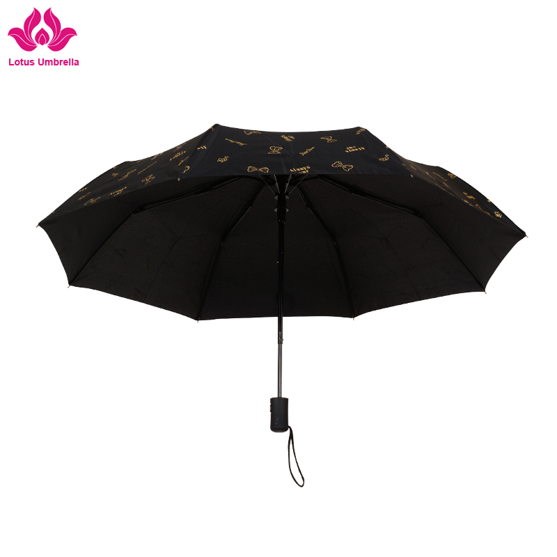 hot selling custom design water spray foldable umbrella