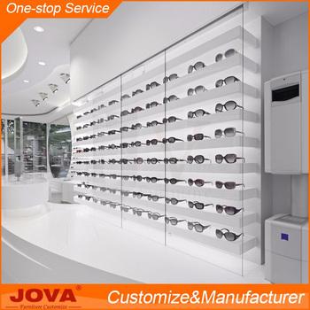 Optical Frame Display Rods Eyeglass Kiosk Design Eyewear