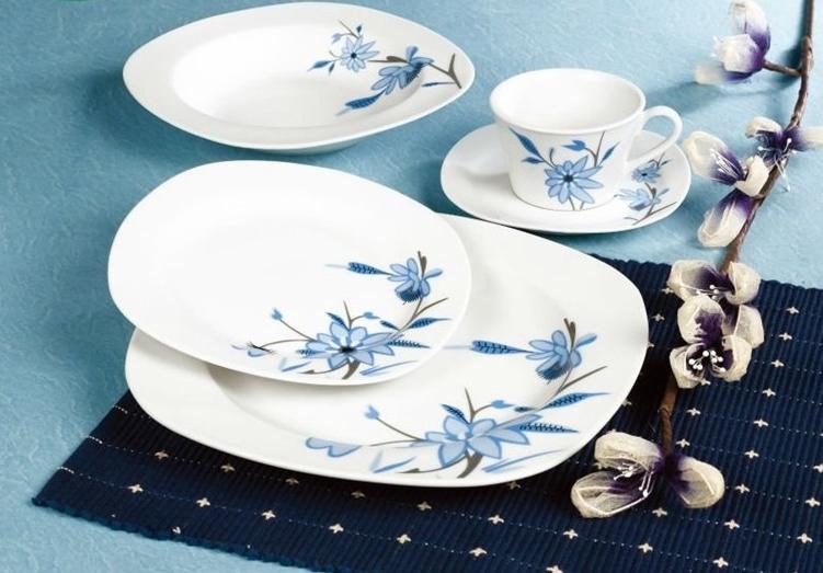 Luxury Dinner Plate Bulk White Dinner Plates Plain Ceramic Dishes