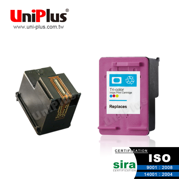 Chip reset to full level for HP 678 color black replacement ink cartridge