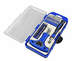 Phillips Slotted Torx screwdriver glasses bits kit connector mini screwdriver set