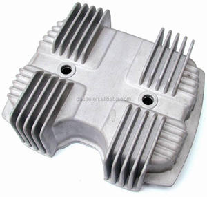 Aluminium casting housing machined and with good finishing
