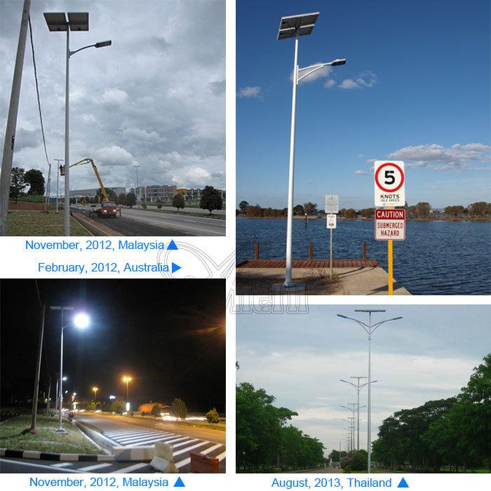 Green Energy 40w Solar Street Light Induction Lamp With 12v/24v ...