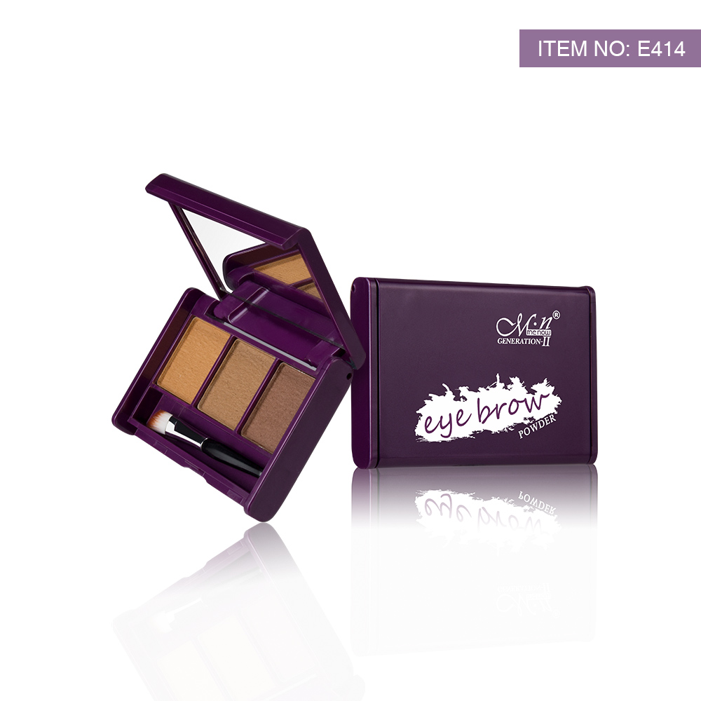 Menow E414 <strong>Cosmetic</strong> 3 in 1 Matte Eyebrow Powder