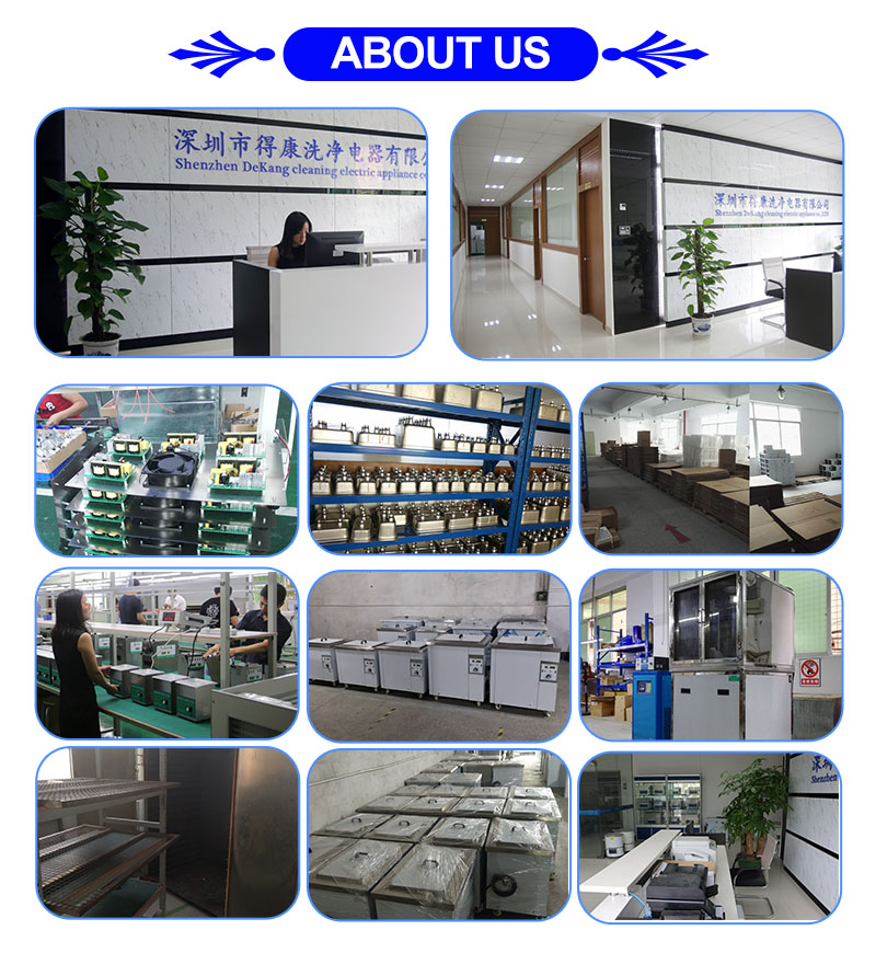 Customized 38-360L Car Parts Engine Carbon Industrial Ultrasonic Cleaning Machine,  with Drying System Cleaner