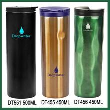 Promotional 750ml custom double wall insulated sport water bottle carrier