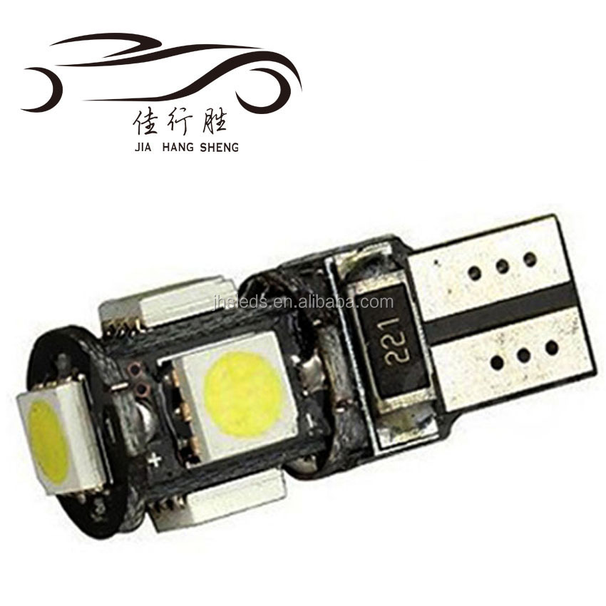 Di alta Qualità LED Car Light Side 5 W Bianco 12 V T10 Canbus 5SMD 5050 194 W5W T10