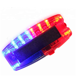 Emergency led flashing light For Police Led Shoulder Light Flashing Strobe Light On The Clothes