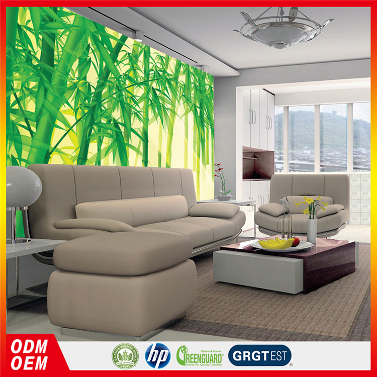 green bamboo wall panel decorative wallpapers for office interior decor