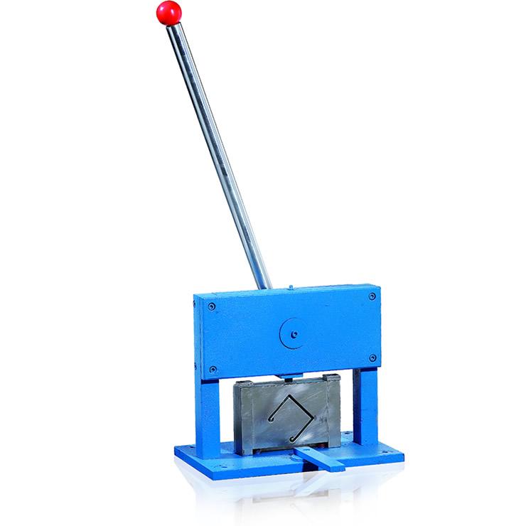 Hoofd rail/Bottom Rail Snijden & ponsmachine voor maken jaloezie