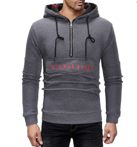 autumn and winter new men's hat stars print access control zipper unique design sweater male hoodie