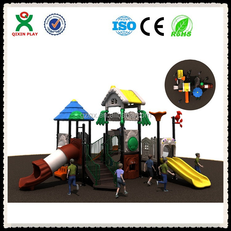 Guangzhou outdoor playground manufacturers supply outdoor children playground kids playground toys QX-014A