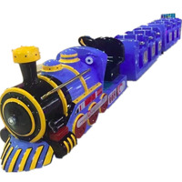 Outdoor Playground Equipment amusement Electric Trackless Train for Shopping Mall Square