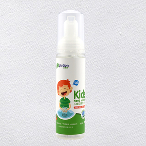 Free shipping OEM/ODM natural herbal extract hand sanitizer for kid with foam spray without alcohol