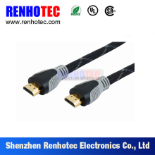 2 HDMI Male Plug Cable Splitter to Coaxial