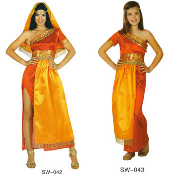 Factory Hot Sale Bollywood Costume