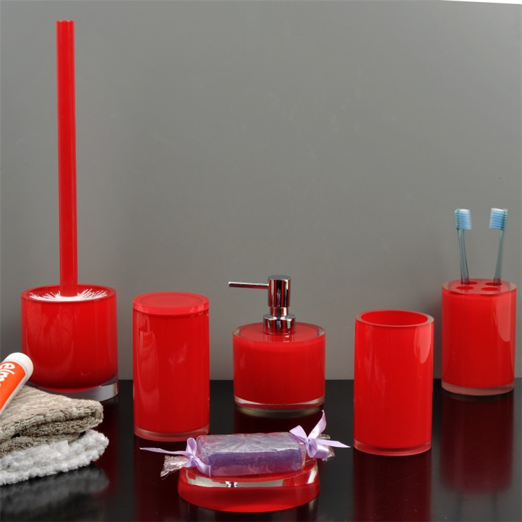 red bathroom accessories sets red bathroom accessories sets suppliers and manufacturers at alibabacom