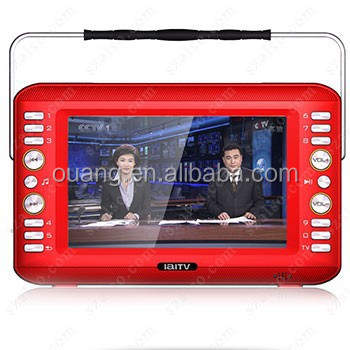 8.0inch HD TV DVB-t TV ATSC TV ISDB-t TV S-DMB handheld mobile digital TV VL-7104