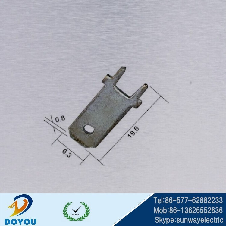 110/187/250 Pcb Side Brass Tin Plated Soldering Weldding Tab ...