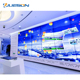 4K high quality resolution 2x3 video wall ad media player/ 3840 x 2160 tv wall display