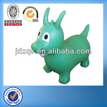 PVC-Plastic animal toy/ride on inflatable pvc toys/inflatable plastic animal
