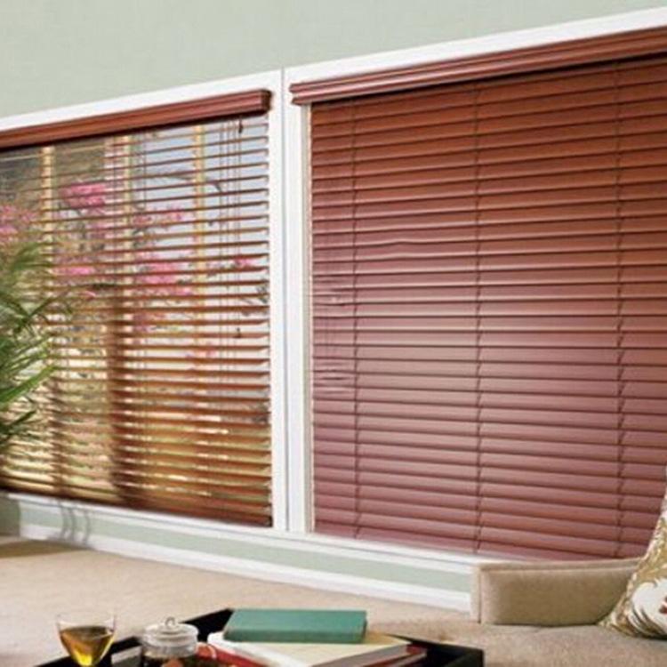 Factory Direct Wooden Blinds Adjustable Shading Stylish