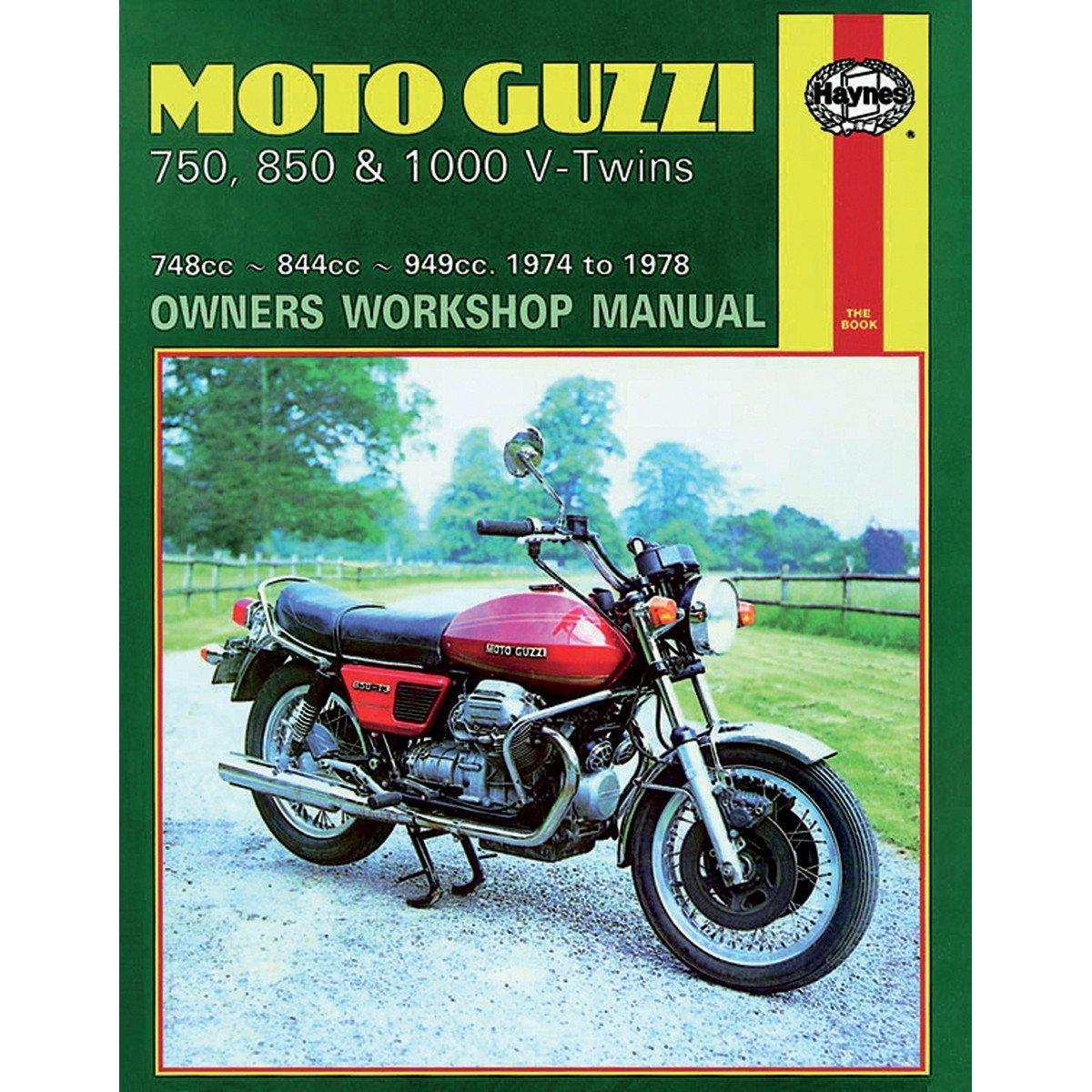 Haynes Repair/Service Manual 339 Fits 77-78 Moto Guzzi 850 T/3 FB