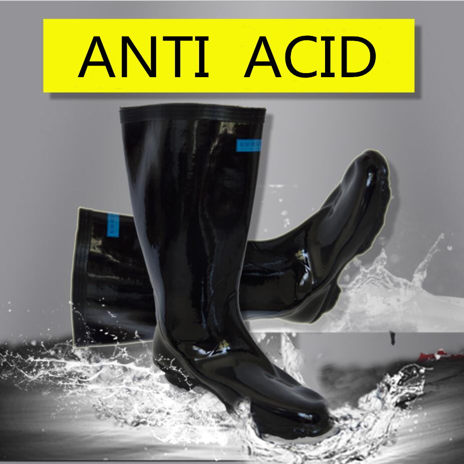 labor protection anti-acid rain shoes for chemical industry FW-YX0004